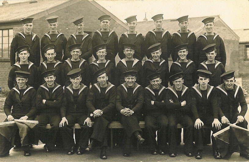 HMS Collingwood 'Crew' from 1941