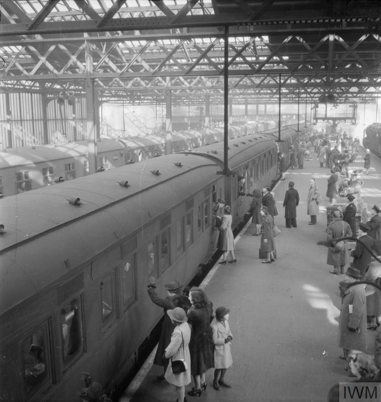 The Jellicoe Express departs London Euston Image © IWM (D 18904)